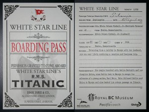 Titanic-ticket
