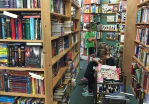 Hanging out at BookEnds