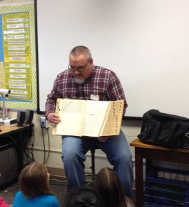 Mike Hays at read aloud day