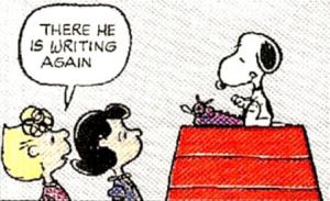 snoopy writer