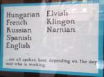 malaprop's languages