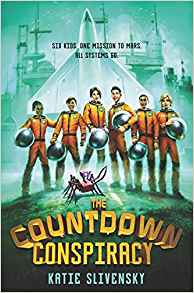 Starman - A Space-Themed Middle Grade Book List |The Countdown Consipiracy | http://www.fromthemixedupfiles.com